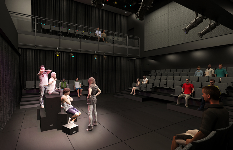 New South Black Box Theater