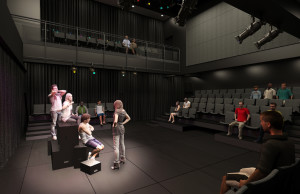 "Classes or clubs can use the lecture hall / ""black box theater"" to enhance learning and for small arts & entertainment performances"
