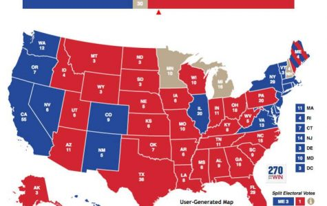 This Electoral map shows the last presidential election.